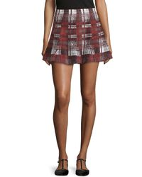Lovers + Friends - Multicolor Tatum Plaid A-line Skirt - Lyst