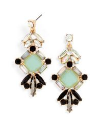BaubleBar - Black Jade Diamond Drops - Lyst