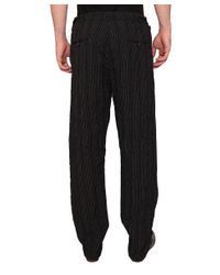 Uma Wang - Black Vittorio Linen And Viscose Pants for Men - Lyst