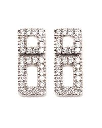 Dana Rebecca | Metallic 'allison Joy' Earrings | Lyst