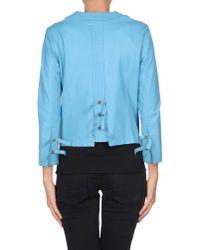 Just Cavalli | Blue Jacket | Lyst