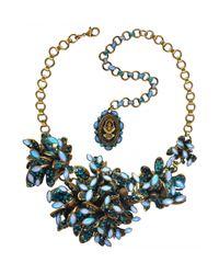 Miranda Konstantinidou Chez Carré Y. | Blue Alien Anemone Necklace | Lyst