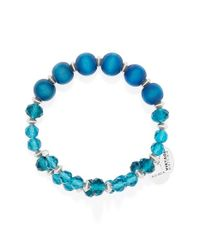 ALEX AND ANI - Blue 'enigma' Wrap Bracelet - Cerulean - Lyst