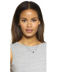 Chan Luu - Black Beaded Layered Necklace - Lyst
