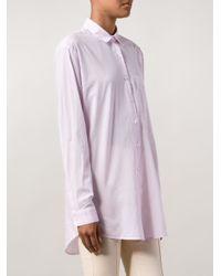 ATM | Purple Boyfriend Shirt | Lyst