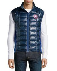 Canada Goose - Blue Hybridge Lite Puffer Vest for Men - Lyst