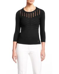 ESCADA | Black Top Eltnura | Lyst