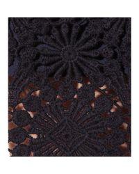 Tory Burch - Blue Trixy Crochet Dress - Lyst