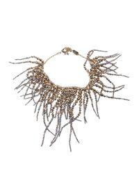 Rosantica - Metallic 'anemone' Necklace - Lyst