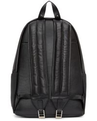 Versus | Black Canvas And Leather Backpack | Lyst