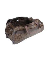 Calvin Klein - Brown Wheeled Luggage - Lyst