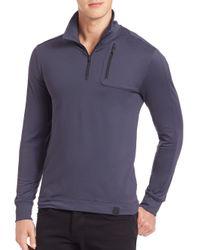 Victorinox - Blue Moraine Tech Quarter-zip Pullover for Men - Lyst