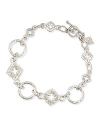 Armenta - Metallic New World Sculpted Diamond Link Bracelet - Lyst