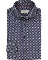 Eton of Sweden | Blue Slim Fit Cotton Shirt for Men | Lyst