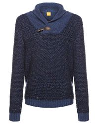 BOSS Orange | Blue Ardon Jumper for Men | Lyst