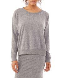 Alternative Apparel - Gray Excusion Eco-brushed Jersey Crew Sweatshirt - Lyst