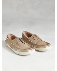 John Varvatos | Brown Redding Boat Shoe for Men | Lyst
