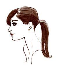 Henri Bendel - Metallic Luxe Pave Huggy Hoop Earrings - Lyst