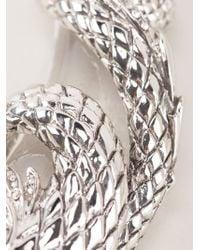 Roberto Cavalli - Metallic Horses Necklace - Lyst