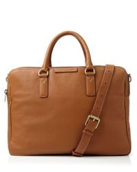 Marc By Marc Jacobs - Brown Classic Leather Briefcase for Men - Lyst