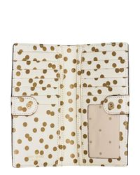 kate spade new york | Metallic Cedar Street Confetti Dot Stacy | Lyst