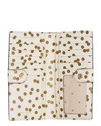 kate spade new york - Metallic Cedar Street Confetti Dot Stacy - Lyst