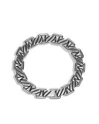David Yurman | Metallic Modern Cable Empire Link Bracelet for Men | Lyst