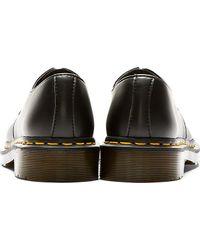 Dr. Martens - Black Vegan 3 Eye Gibson Shoes - Lyst