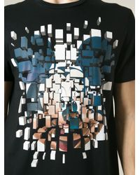 Neil Barrett - Black Mickey Mouse Print T-Shirt for Men - Lyst