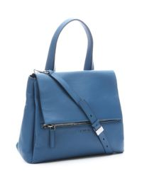 Givenchy | Sky Blue Leather 'Pandora Pure' Convertible Top Handle Bag | Lyst