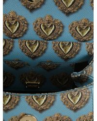 Dolce & Gabbana - Blue Mini Sicily Tote - Lyst