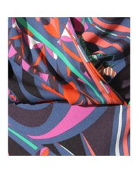 Emilio Pucci - Purple Printed Jersey Top - Lyst