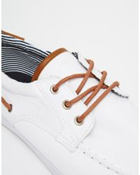 ASOS - Blue Boat Shoes for Men - Lyst