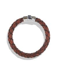 David Yurman | Pavé Bracelet in Brown with Cognac Diamonds for Men | Lyst