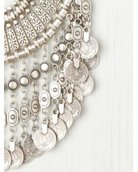 Free People | Metallic Antalya Coin Collar | Lyst