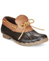 Sperry Top-Sider | Brown Cormorant Duck Booties | Lyst