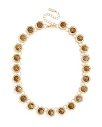 BaubleBar | Brown Hex Gem Strand | Lyst