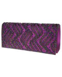 Nina - Purple Halton Clutch - Lyst
