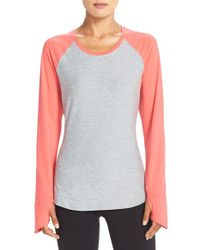 The North Face | Pink 'motivation' Baseball Tee | Lyst