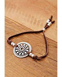Forever 21 | Brown Soulmakes Mandala Bracelet | Lyst