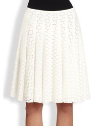 Akris Punto | Natural Pleated Skirt | Lyst