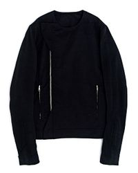 Rick Owens | Black Mens Textile Jacket for Men | Lyst