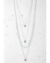 Forever 21 - Metallic Layered Charm Necklace Set - Lyst