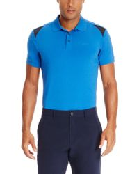 BOSS Green | Blue 'n-parsox' | Stretch Cotton Polo for Men | Lyst