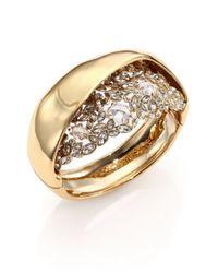 Alexis Bittar - Metallic Miss Havisham Jagged Crystal Hidden Cluster Bracelet - Lyst