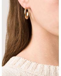 Kelly Wearstler | Metallic 'anza' Hoop Earrings | Lyst
