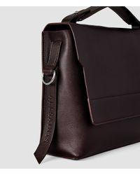 AllSaints | Purple Paradise Shoulder Bag | Lyst