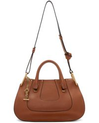 Chloé - Brown Leather Medium Hayley Bag - Lyst