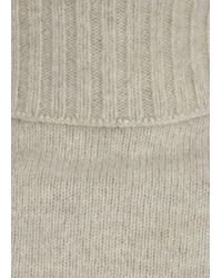 The Row - Gray Nenette Grey Wool and Cashmere Blend Jumper - Lyst