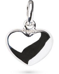 Links of London | Metallic Heart Sterling Silver Charm | Lyst